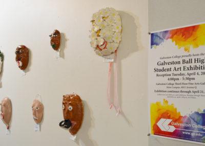 2017 BHS Student Art Show_Masks