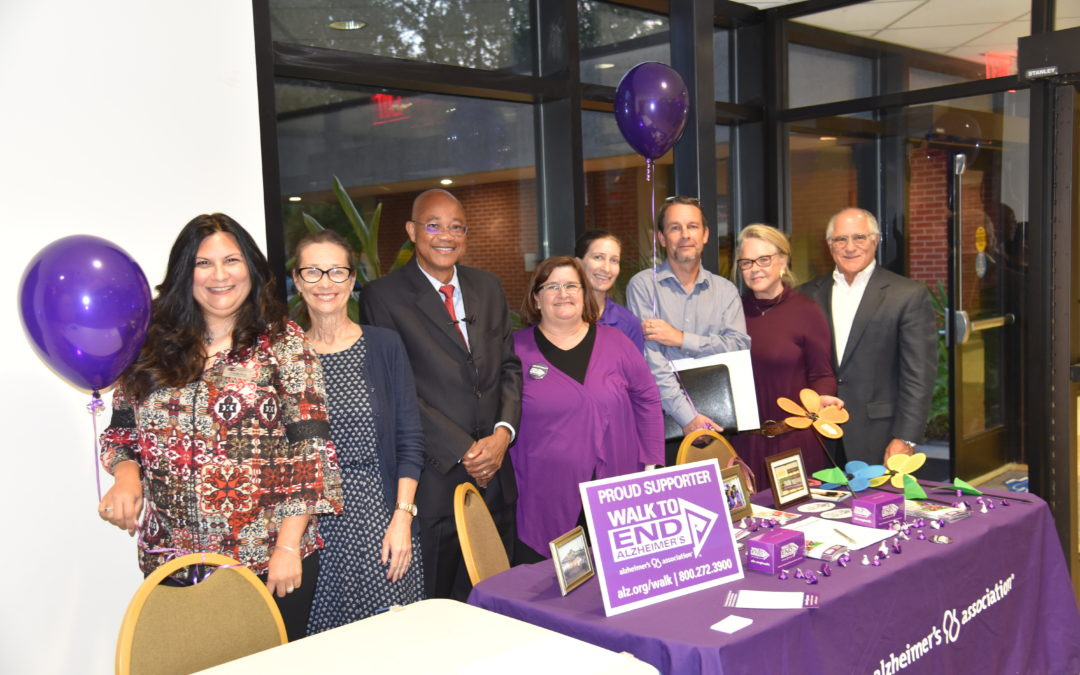 Alzheimer's lecture supports walk