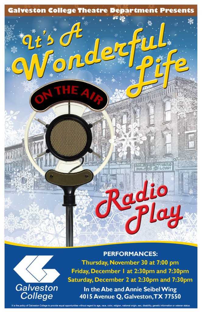 It 39 S A Wonderful Life Radio Play Galveston College