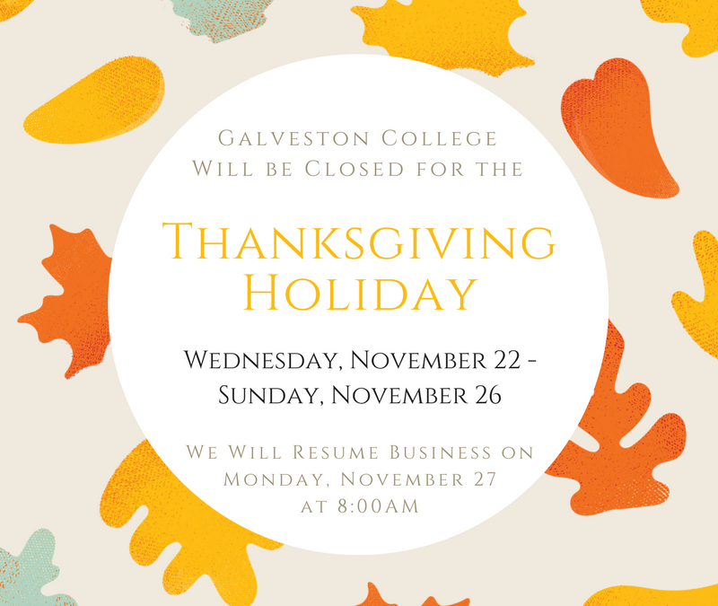 Thanksgiving Holiday – College is Closed